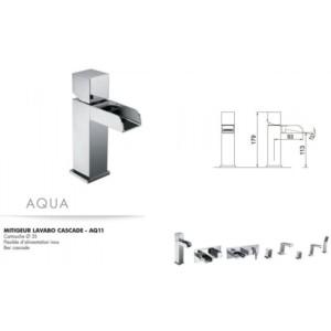 Mitigeur lavabo cascade Aqua
