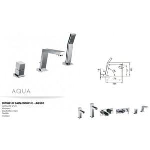 Mitigeur bain/douche Aqua