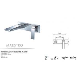 Mitigeur lavabo encastré Maestro