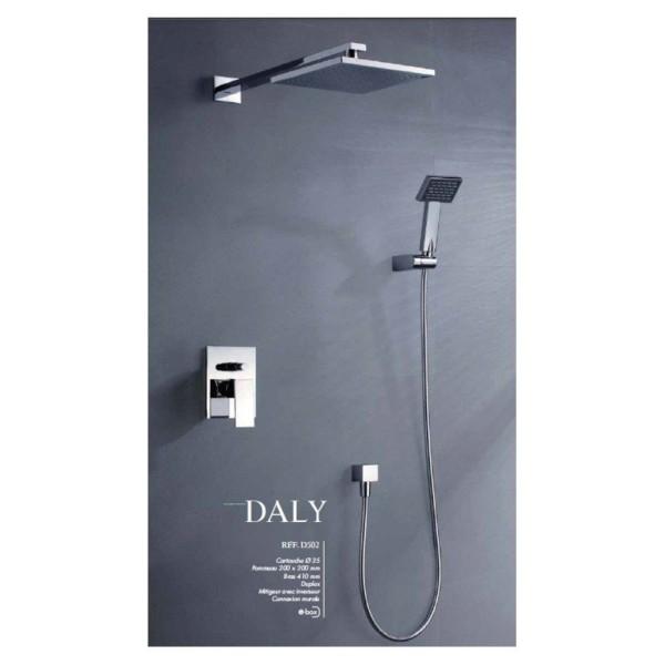 Set de douche encastré Daly