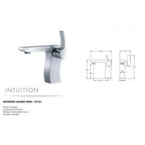 Mitigeur lavabo mini Intuition