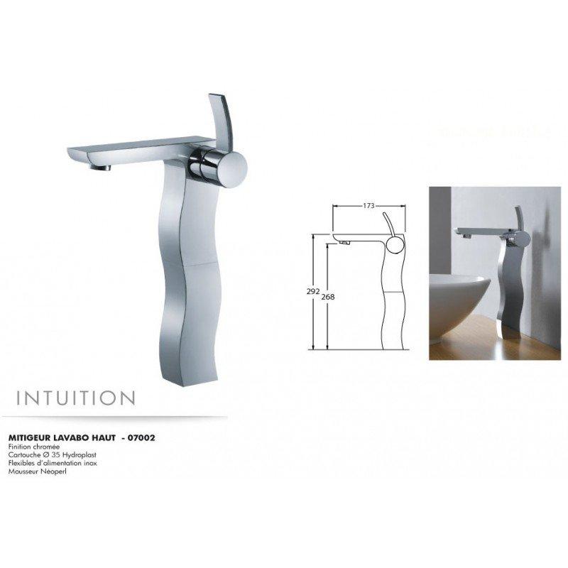 robinet mitigeur lavabo haut intuition exposition de salles de bain cuisines robinetterie et. Black Bedroom Furniture Sets. Home Design Ideas