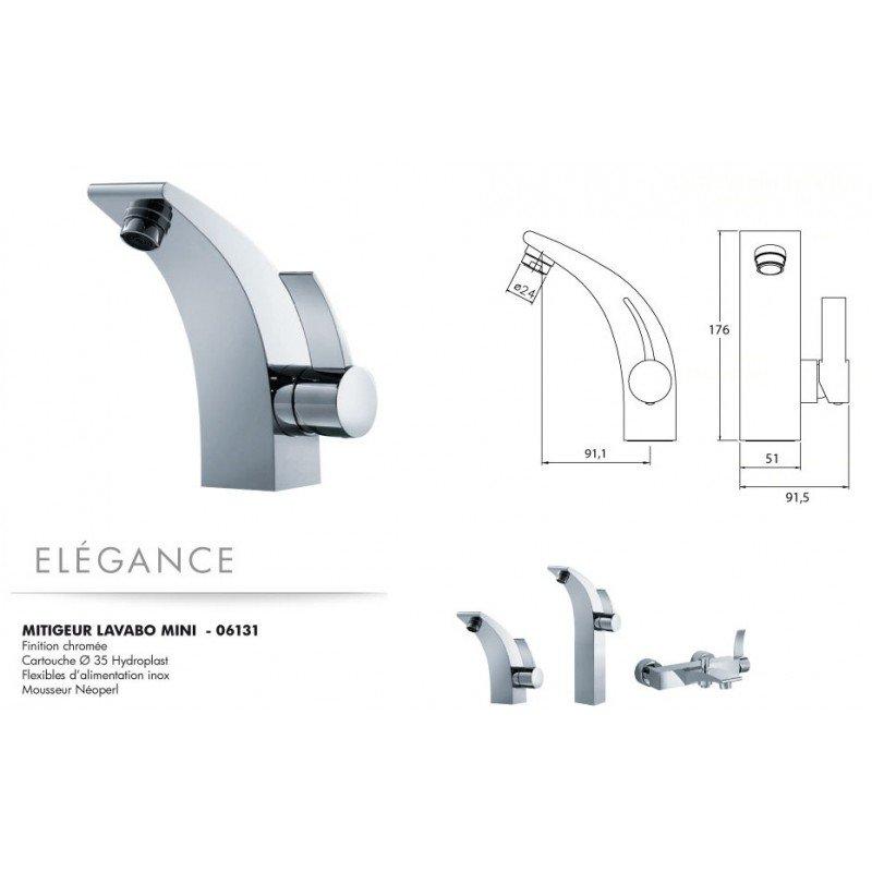 Robinet Mitigeur lavabo mini Elégance Exposition de salles de