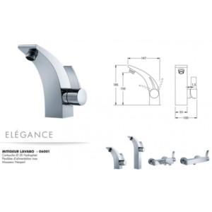 Mitigeur lavabo Elégance
