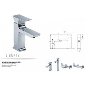 Mitigeur lavabo Liberty