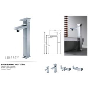 Mitigeur lavabo haut Liberty