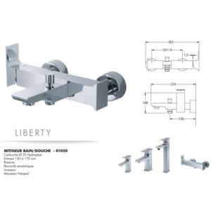 Mitigeur bain/douche Liberty