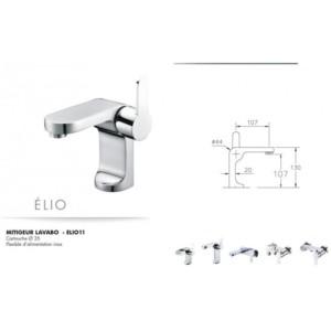 Mitigeur lavabo Elio