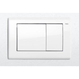 Plaque de déclenchement Blanc Brillant TECEplanus