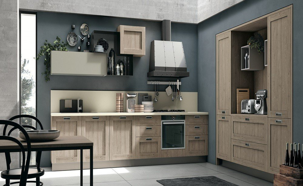 cuisine city en bois ch ne pas cher en suisse. Black Bedroom Furniture Sets. Home Design Ideas