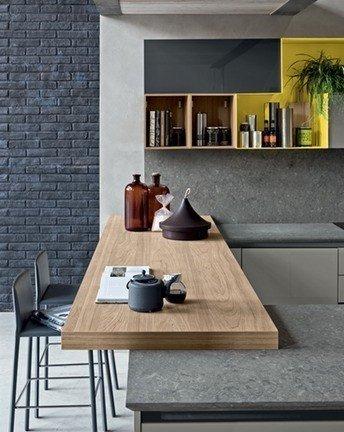 detail cuisine moderne aleve avec poignee 114