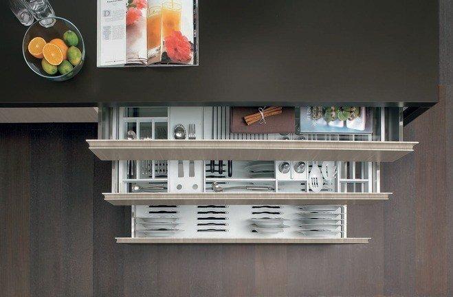 Awesome Cuisine Moderne Rangement Idees - Photos et idées décoration ...