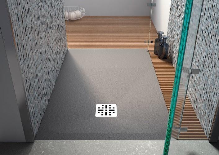 receveur douche sable 90x100