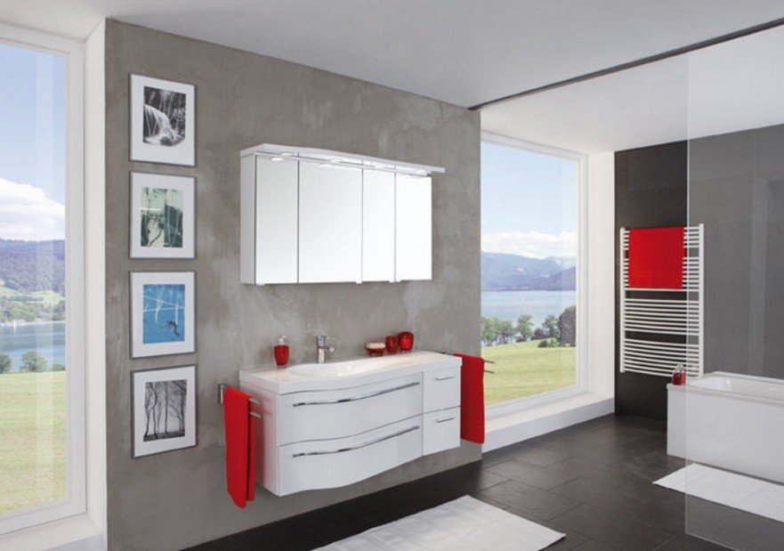 salle de bain Swing blanc