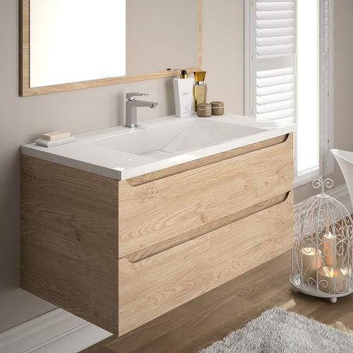 salle de bain feeling chene
