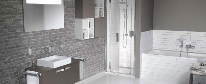salle de bain douche luxe